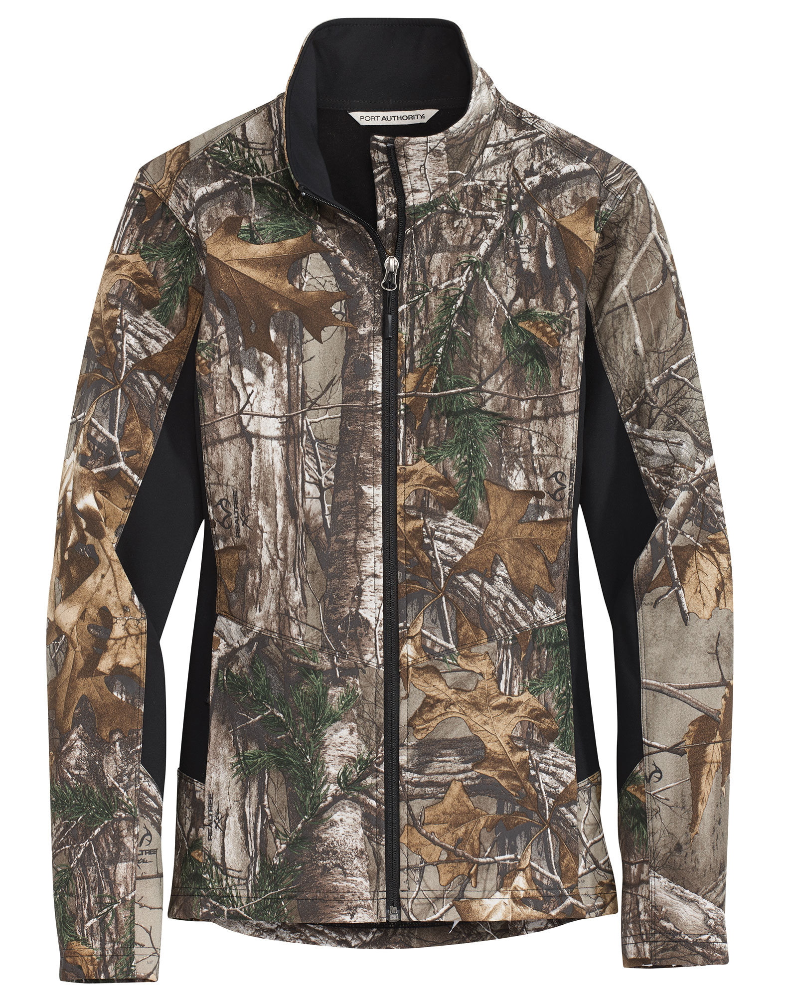 Port Authority� Ladies Camouflage Colorblock Soft Shell