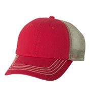 Custom Washed Twill Trucker Cap