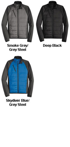 Port Authority® Mens Hybrid Soft Shell Jacket   - All Colors