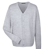 Custom Mens Pilbloc™ V-Neck Cardigan Sweater