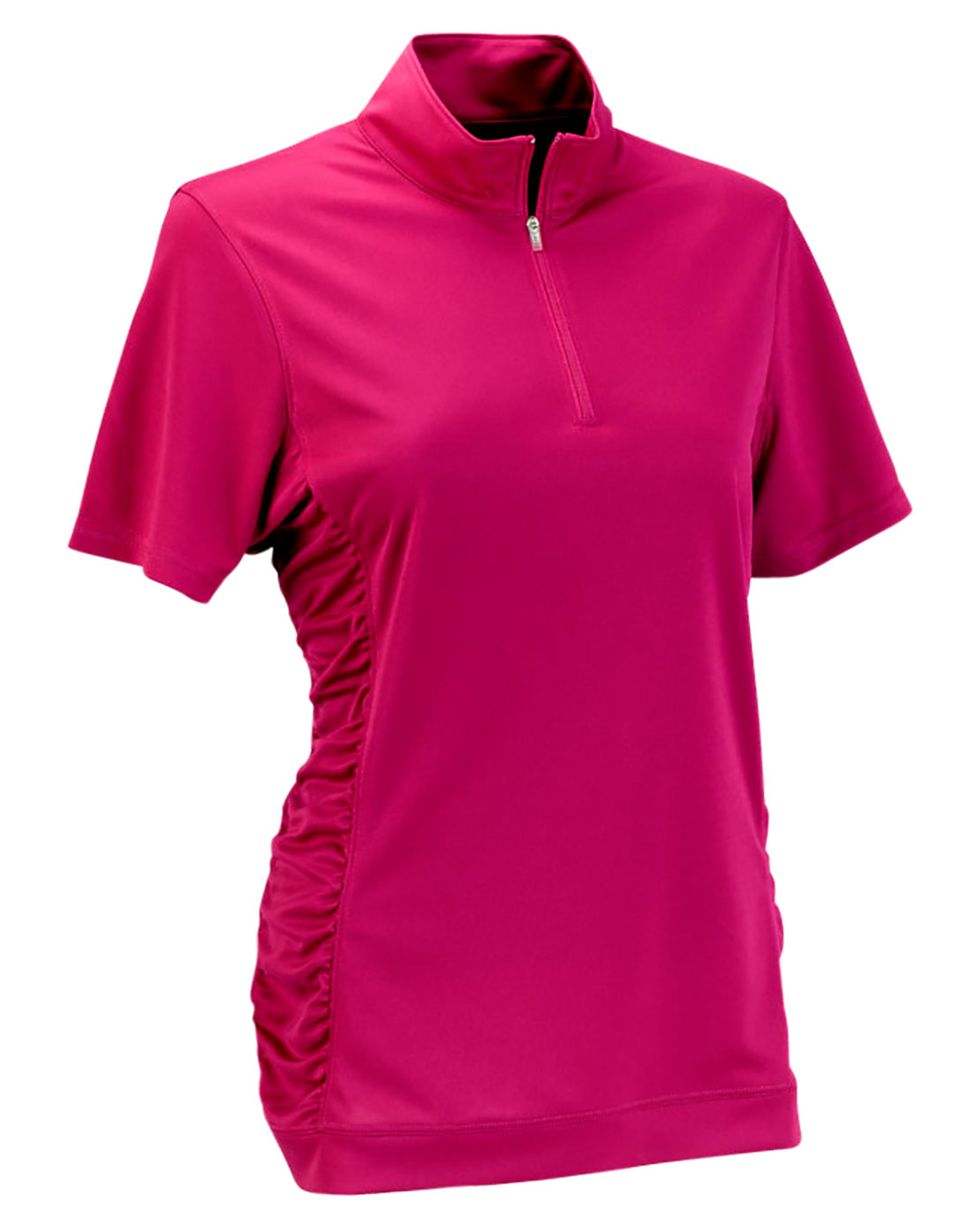 Womens Vansport� Omega Ruched Polo