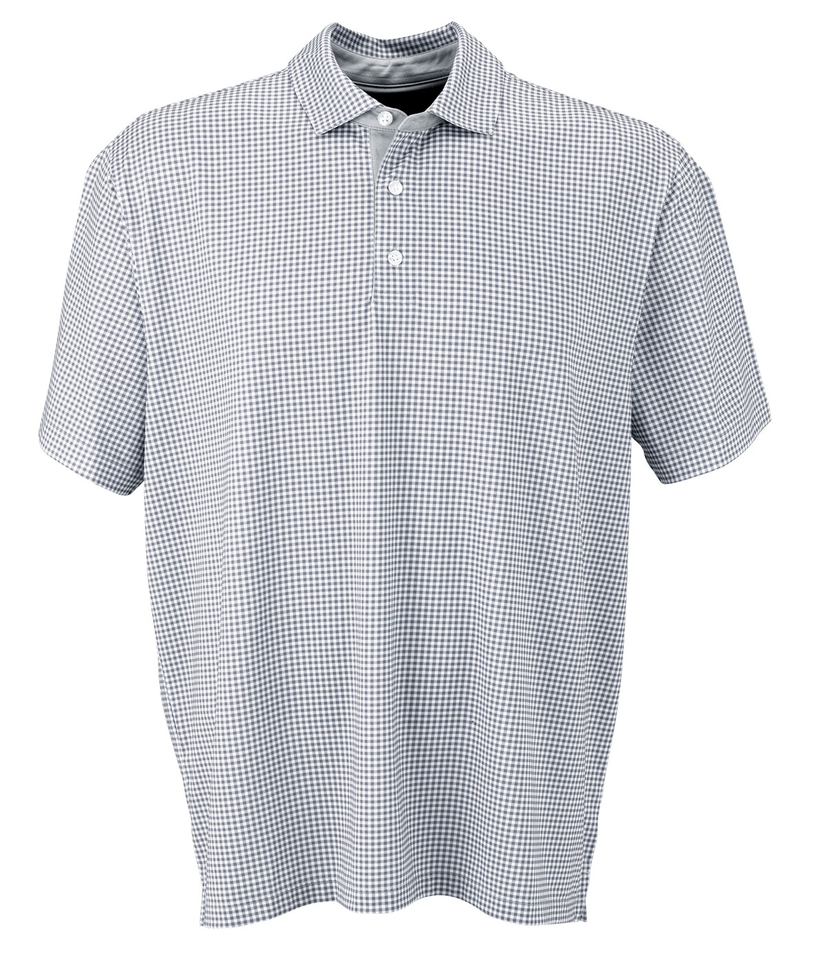 Vansport� Pro Mini-Gingham Polo