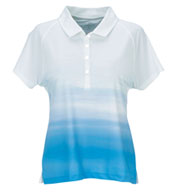 Womens Vansport™ Pro Ombre Print Polo