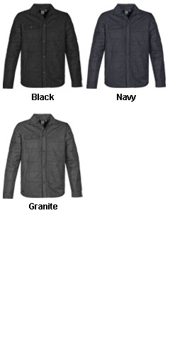 Mens Brooklyn Quilted Jacket - All Colors