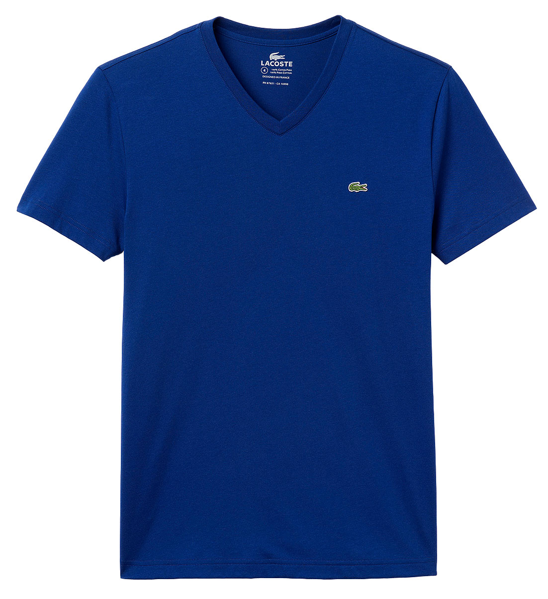 Lacoste Mens Cotton Short Sleeve Tee