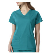 Charlotte V-Neck Scrub Top from Wonder Wink Next®