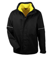 Custom Harriton Adult Contract 3-in-1 Jacket