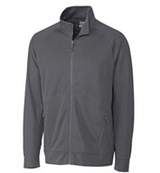 Custom Mens Big and Tall Peak CB Water Tech Full-Zip Jacket