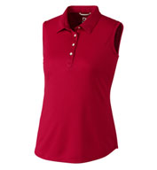 Custom Ladies Sleeveless Clare Polo