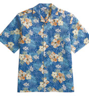 Custom Unisex Tropical Hibiscus Camp Shirt