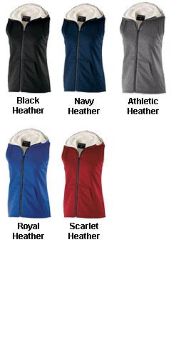 Ladies Artillery Sherpa Vest - All Colors