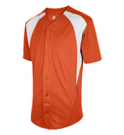 Adult Cutoff Full Button Baseball Jersey
