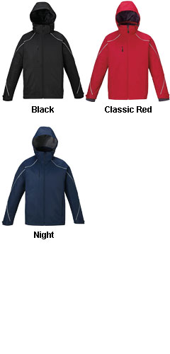 Mens Angle 3-in-1 Jacket with Fleece Liner - All Colors