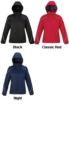 Ladies Angle 3-in-1 Jacket with Fleece Liner - All Colors