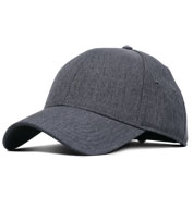 Adult Heathered Linen Cap
