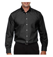 Custom Mens Tall Performance Solid Broadcloth Dress Shirt
