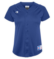Custom Champion Womens Full-Button Jersey
