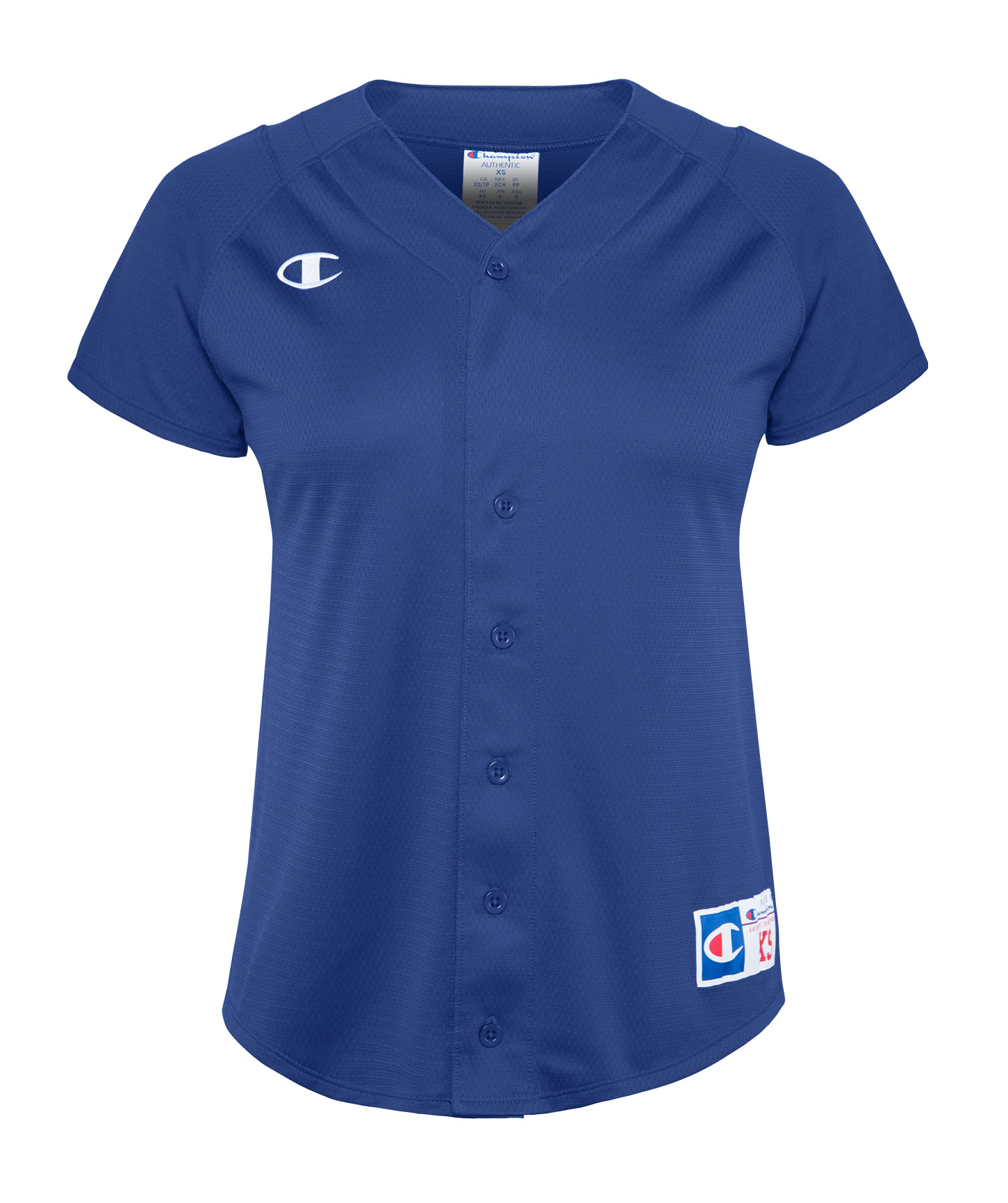 Champion Youth Full-Button Jersey