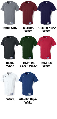 Prospect Double Dry Full Button Jersey - All Colors