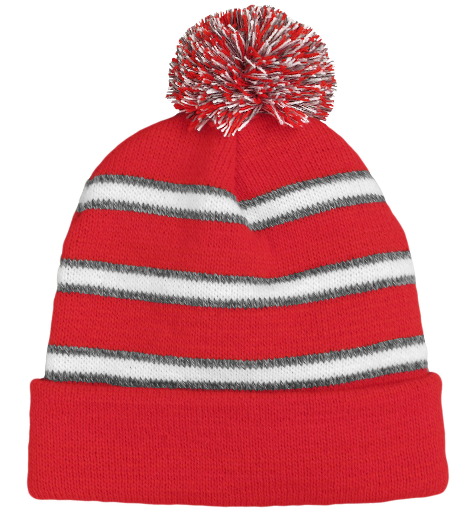 Field Stripe Beanie Made In USA