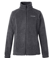 Custom Columbia Womens Benton Springs Full-Zip Fleece