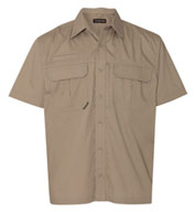 Custom Dri Duck Utility Short Sleeve Ripstop Shirt