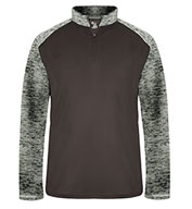 Custom Mens Sport Tonal Blend 1/4 Zip