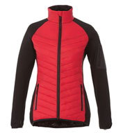 Custom Womens Banff Hybrid Insulated Jacket