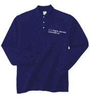 USPS Long Sleeve Polo Shirt