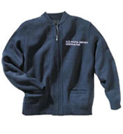 Custom USPS Full Zip Sweater
