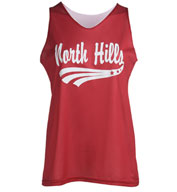 Ladies Mini Mesh Reversible Tank