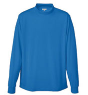 Custom Rapid Dry Mockneck Long Sleeve Mens