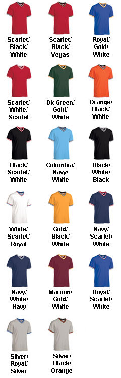 Custom Adult V-Neck Custom Baseball Shirt - All Colors