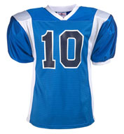 Custom Adult Striped Steelmesh Football Jersey Mens