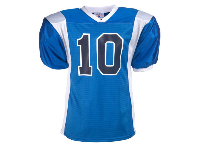 Adult Striped Steelmesh Football Jersey