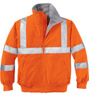 Custom Safety Challenger Jacket With Reflective Taping Mens
