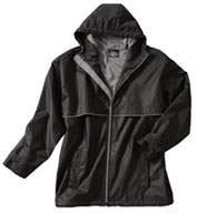 Custom New Englander Adult Rain Jacket  by Charles River Apparel Mens