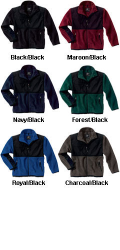 Adult Evolux� Fleece Jacket by Charles River Apparel - All Colors