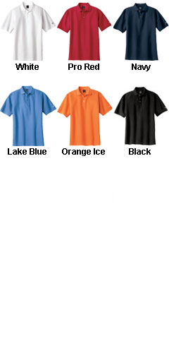 Nike Golf Mens 100% Cotton Pique Sport Shirt - All Colors