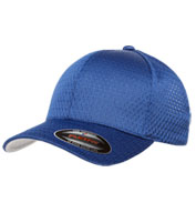 Custom Six Panel Low Profile Athletic Mesh Flexfit Cap