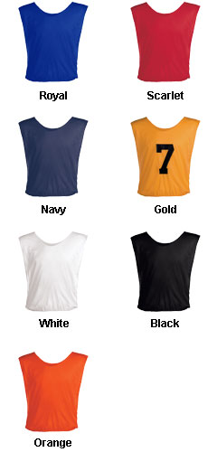Adult Football Scrimmage Vest - All Colors