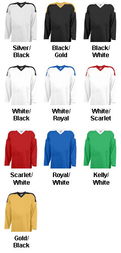 House League Adult Hockey Uniform Jersey - All Colors