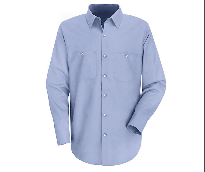 Mens Longsleeve Work N Motion Shirt