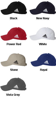Six Panel Low Profile Relaxed Cresting Adidas Cap - All Colors