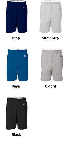Champion 100% Ring-Spun Cotton Jersey Gym Short - All Colors