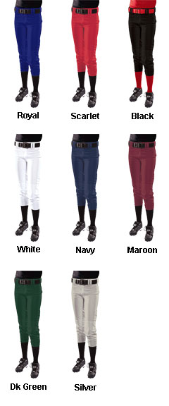 Womens Modified Low Rise Softball Pant - All Colors