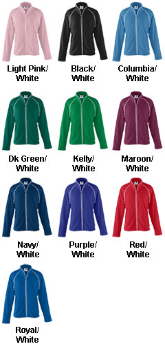 Girls Brushed Tricot Jacket - All Colors