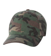 Custom Yupoong Flexfit® Low Profile Camouflage Cap