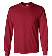 Custom 100% Heavyweight Ultra Cotton Long Sleeve T-Shirt Mens